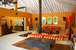 Salon de style sénégalais