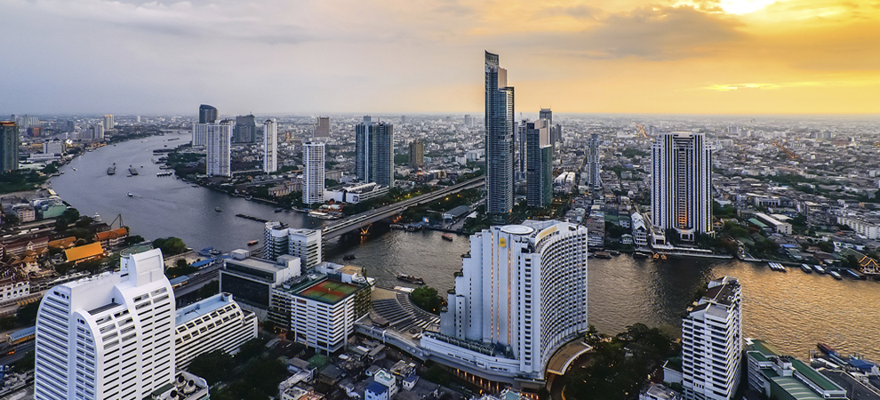 Bangkok river real estate
