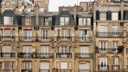 Facade Immeuble Paris