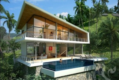 6802 - 4 bdr Villa for sale in Samui - Lamai