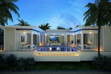 Unique seaview villa 3 bed