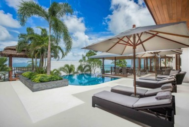 luxury sea view villa Bophut