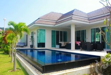 14073 - 3 bdr Villa for sale in Hua Hin - Mountain