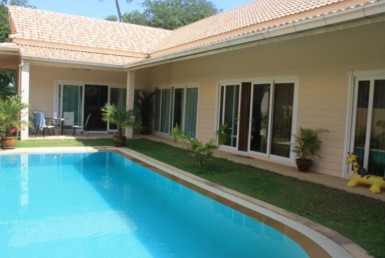 villa 2 bed swimming pool for rent
