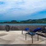 Sea view pool condominium