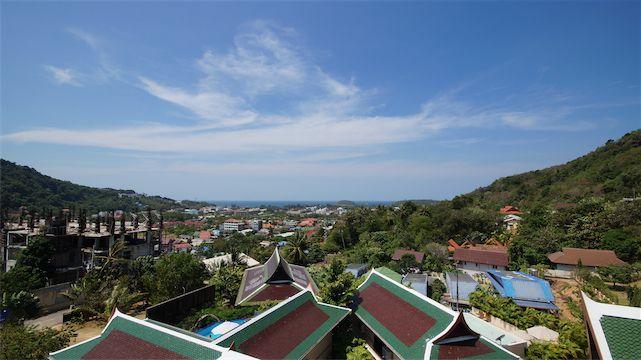 Villa project overlooking Kata Bay