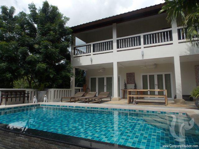 13600 - 7 bdr Villa for sale in Samui - Lamai