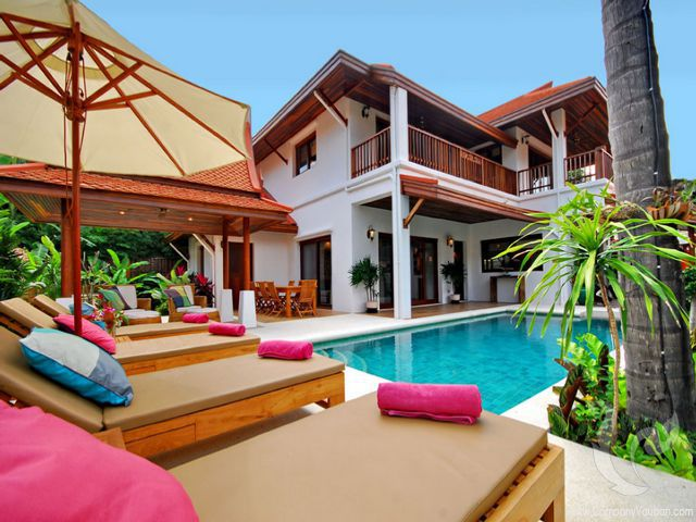 13936 - 3 bdr Villa for rent in Samui - Hua Thanon
