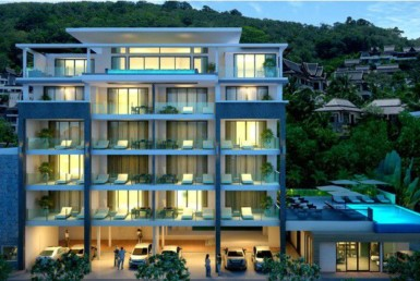 Condominium project near the Beach