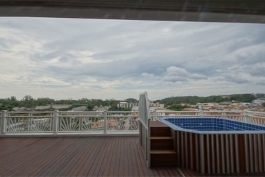 Sea view penthouse for sale in Kata