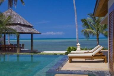 Luxury villa 6 bedrooms beachside