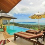 Upscale villa for rent with seaview in Koh Samui