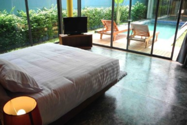 Nice and convenient pool villa for sale in Phuket