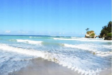 Superb beachfront land for sale in Sumba