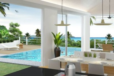 Modern sea-view villa