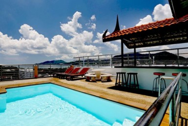 Sea view apartment for sale in Patong