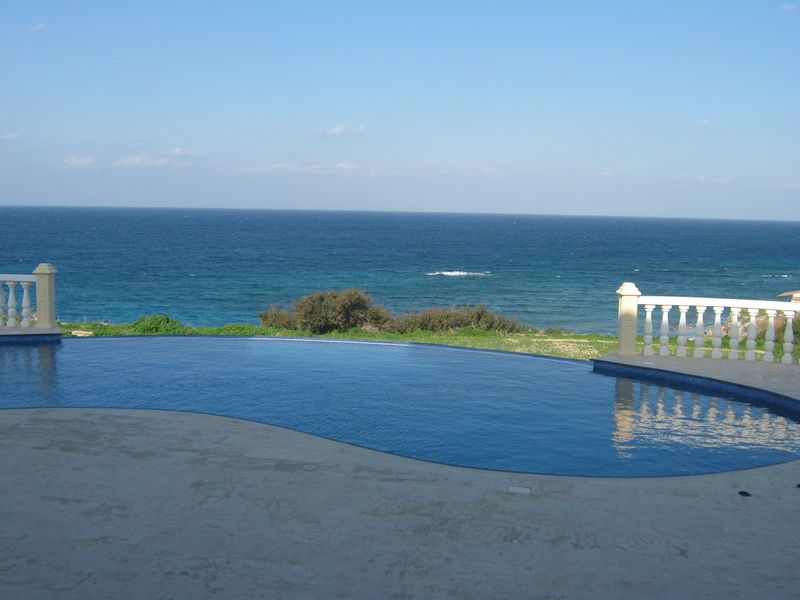 Villa with view on the sea at Cyprus