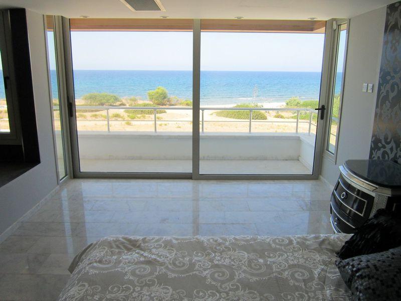 Luxury sea front villa in north Cyprus