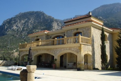 Unique stone villa for sale in North Cyprus