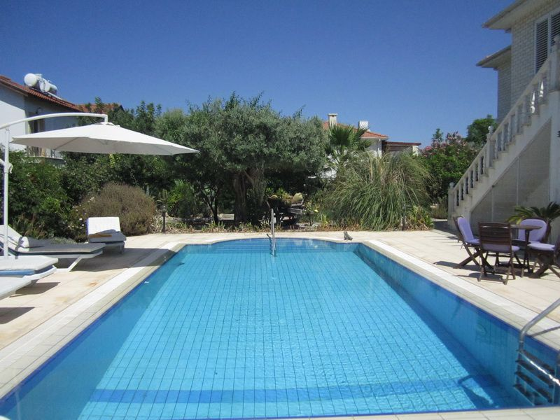 Australian type property with pool for sale in north Cyprus