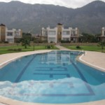 Mountain view near beachfront apartment for sale in Cyprus