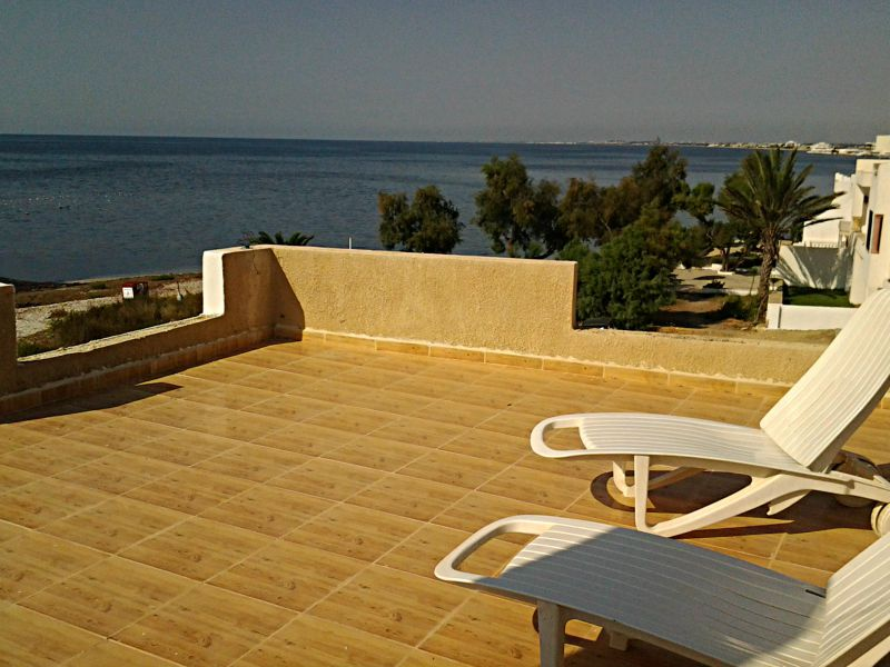Seafront apartment for rent in Tunisia at Kelibia