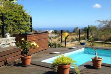Villa for sale with sea view in Reunion Island