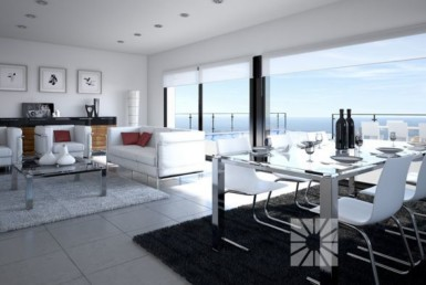 Upscale seaview villa for sale in Spain