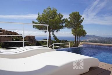 Upscale seaview villa for sale in Altea Spain