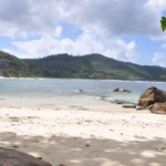 Beach front land lot for sale in Seychelles