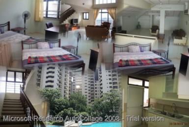 KLCC Kuala Lumpur Furnished Short Term Rent Bed Room