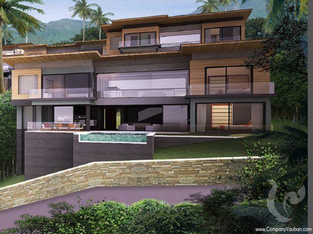 12519 - 4 bdr Villa Samui - Chaweng Noi
