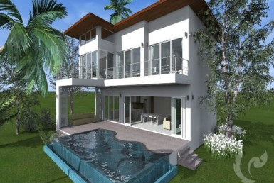 15218 - 3 bdr Villa for sale in Samui - Maenam