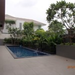 Bangkok Phrom Phong - Beautiful single house for Rent with pool [HBKR1023TP]