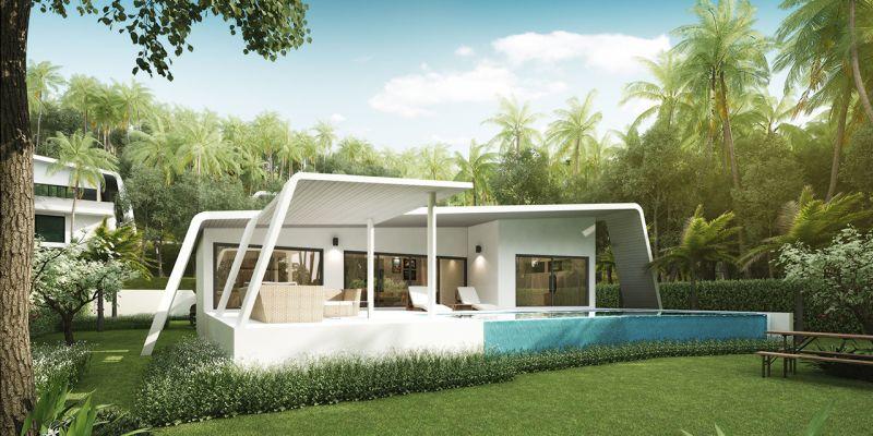 Villa 2 bedrooms Chaweng Sea view