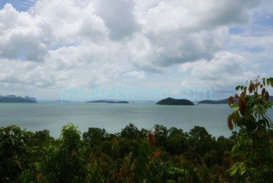 Phuket sea view land plot