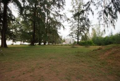 Phuket unique beach front land plot for sale