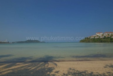 Phuket beach front land plot for sale