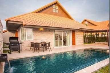 15171 - Exclusive villas pool residence near Jomtien