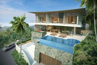 Villa 4 bed sea view for sale