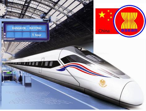 Construction de lignes ferroviaires à grande vitesse en Thaïlande
