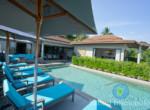 Villa à louer - 3 chambres - vue sur mer - Lamai12
