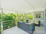 Villa + appartement à vendre - 3 chambres - cocoteraie - Maenam - Koh Samui112