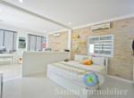 Villa + appartement à vendre - 3 chambres - cocoteraie - Maenam - Koh Samui119