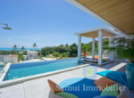 Villa à vendre - 3 chambres - vue sur mer - Chaweng Noi - Koh Samui10