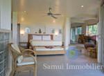 2 villas à vendre - 3 + 2 chambres - vue sur mer - Laem Set - Koh Samui31