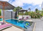 Villa + appartement à vendre - 3 chambres - cocoteraie - Lamai - Koh Samui14