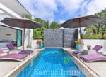 Villa + appartement à vendre - 3 chambres - cocoteraie - Lamai - Koh Samui15