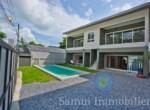 Complexe de 3 appartements à vendre - 4 + 2 + 2 chambres - Lamai - Koh Samui100