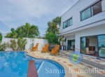 Villa à vendre - 3 chambres - vue sur mer -Bang Rak - Koh Samui102